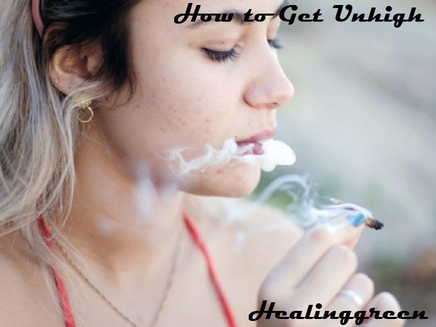 how to get unhigh