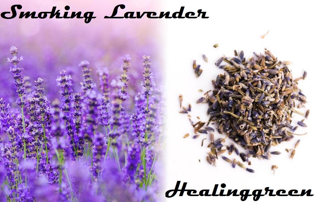smoking lavender