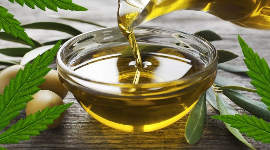 cannabis infused oil