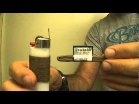how to light hemp wick