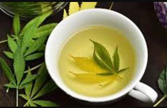 weed stem tea
